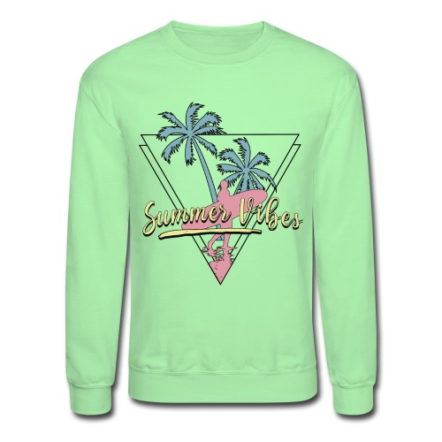 summer vibes - Unisex Crewneck Sweatshirt