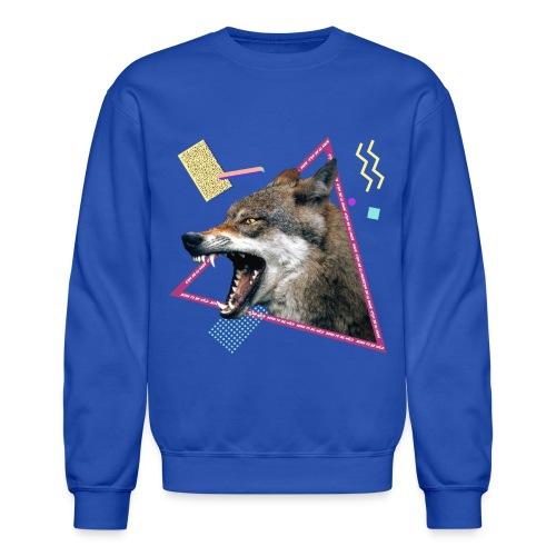 wild wolf - Unisex Crewneck Sweatshirt