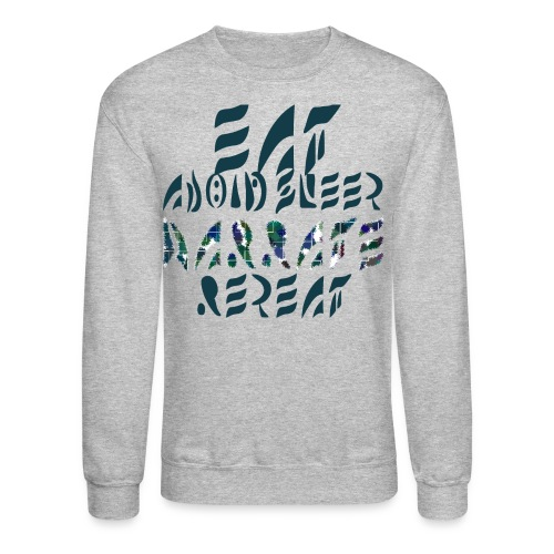 Eat Sleep Narrate Repeat - Crewneck Sweatshirt