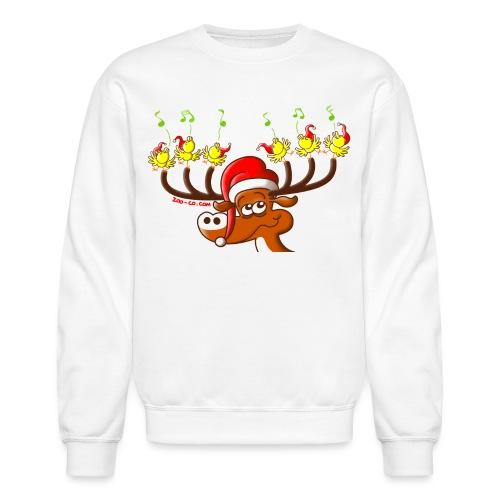 Birds' and Deer's Christmas Concert - Crewneck Sweatshirt