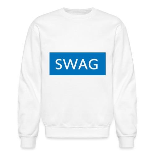 Swag blue Hoodie - Unisex Crewneck Sweatshirt