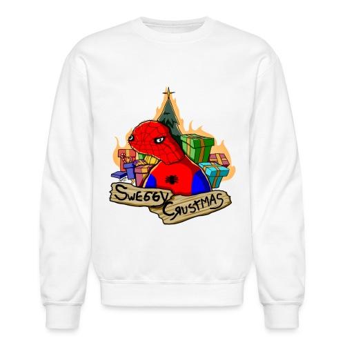 spoderman tshirt2 png - Crewneck Sweatshirt