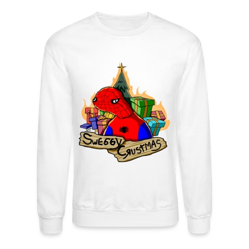 spoderman tshirt2 png - Unisex Crewneck Sweatshirt