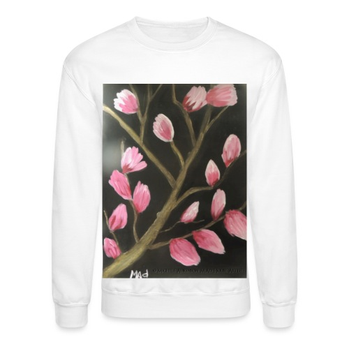 Magnolia Buds Early Spring - Unisex Crewneck Sweatshirt