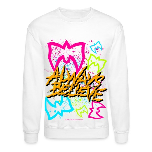 always believe masks - Crewneck Sweatshirt