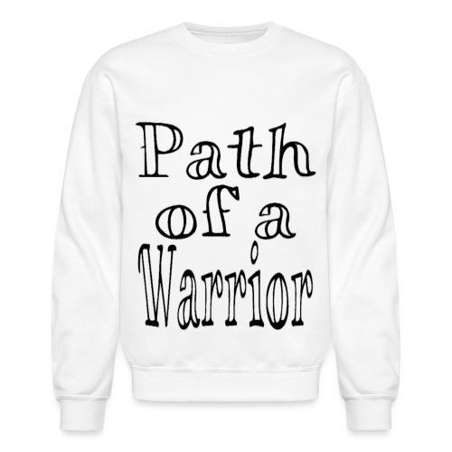 Path of a Warrior (White) - Unisex Crewneck Sweatshirt
