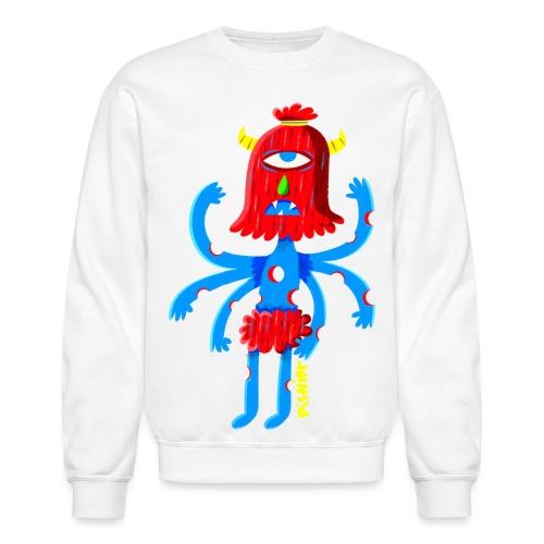 pishiermonstreetroit png - Crewneck Sweatshirt