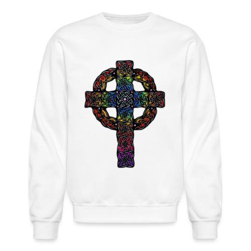 Celtic Cross rainbow - Unisex Crewneck Sweatshirt