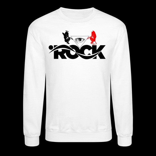 Eye Rock Devil Design - Crewneck Sweatshirt