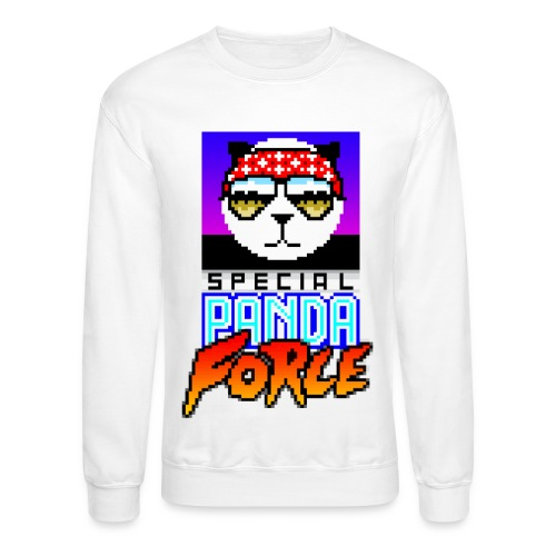 SHIRT DESIGN transparent bkgr A3 png - Crewneck Sweatshirt