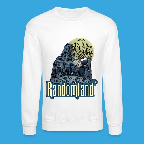Randomland Haunted House - Unisex Crewneck Sweatshirt