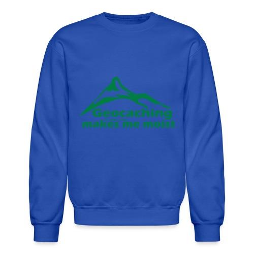 Geocaching in the Rain - Crewneck Sweatshirt