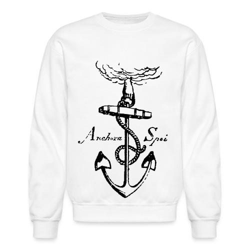 vintage anchor - Unisex Crewneck Sweatshirt