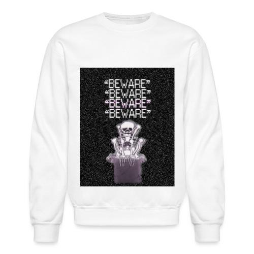 BEWARE png - Unisex Crewneck Sweatshirt