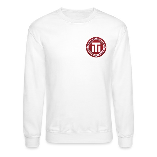red logo - Crewneck Sweatshirt