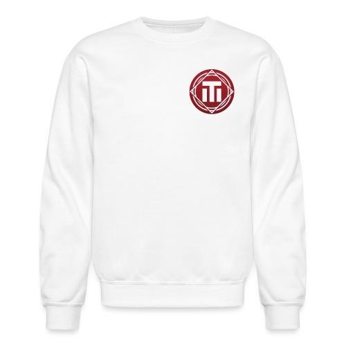red logo - Crewneck Sweatshirt
