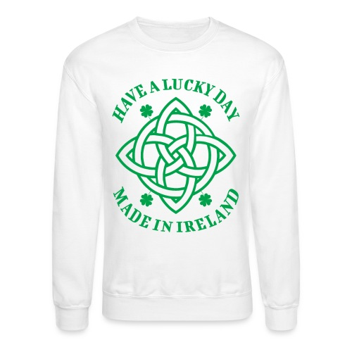 luck lucky ireland - Unisex Crewneck Sweatshirt