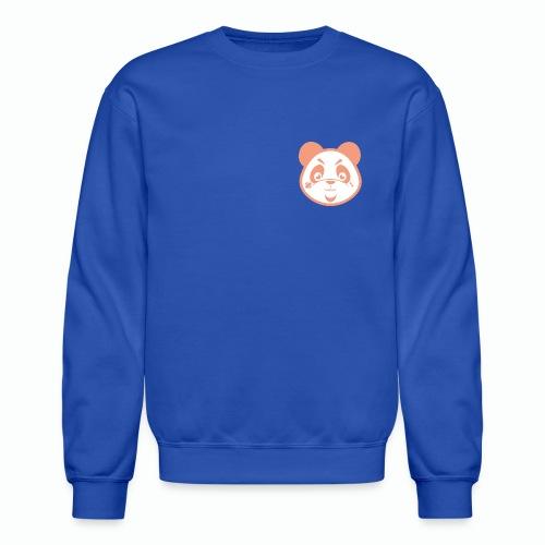#XQZT Mascot - Peachy Keen PacBear - Unisex Crewneck Sweatshirt