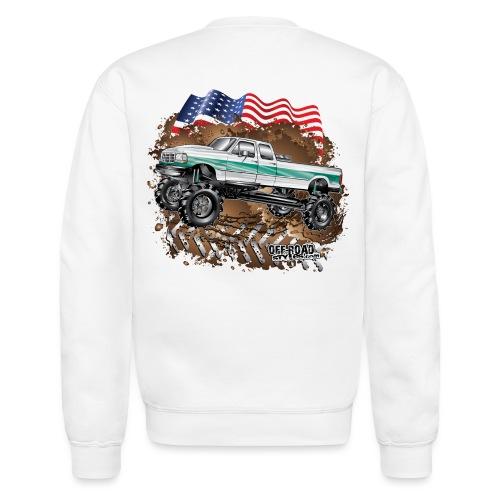 Ford Bronco F350 Mega Truck - Crewneck Sweatshirt