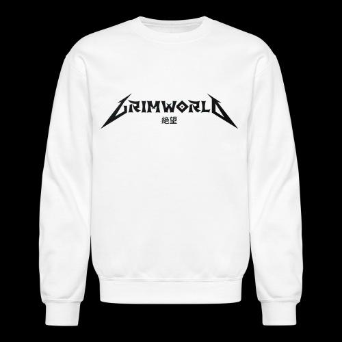 BLACK GRIMWORLD ON COKE WHITE - Crewneck Sweatshirt