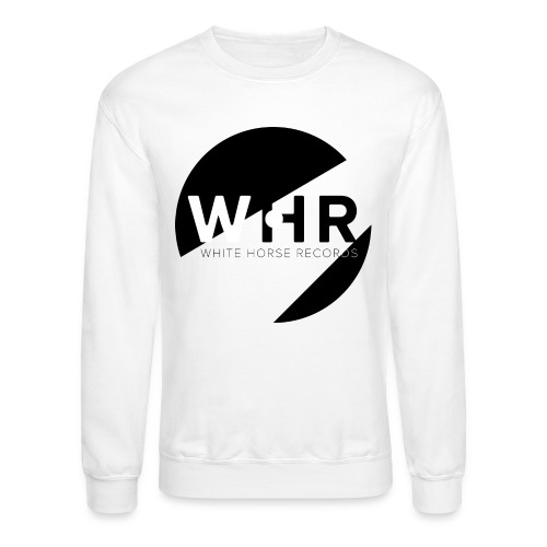 White Horse Records Logo - Crewneck Sweatshirt