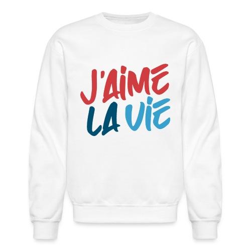 j'aime la vie love life - Unisex Crewneck Sweatshirt