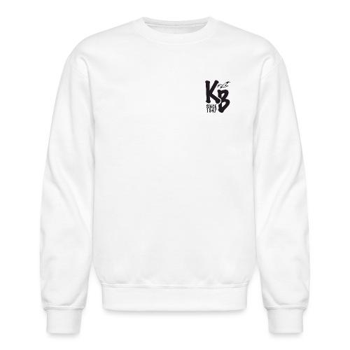 Kure Beach Day-Black Lettering-Front and Back - Crewneck Sweatshirt