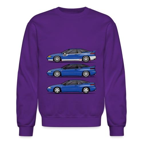 Subie Alcyone SVX Laguna Blue Pearl Trio - Crewneck Sweatshirt