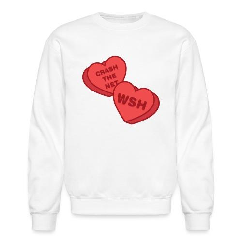 Candy Hearts - Unisex Crewneck Sweatshirt