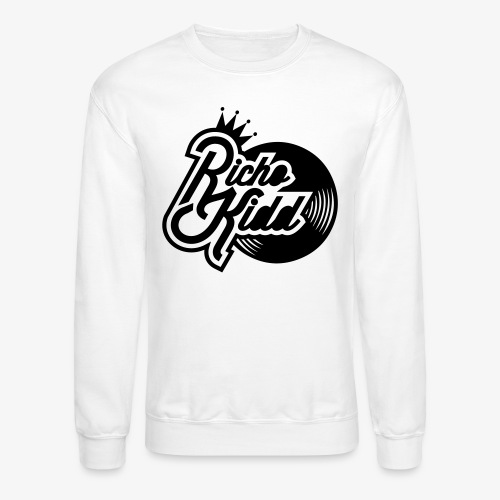 Richo Kid Logo Final - Unisex Crewneck Sweatshirt