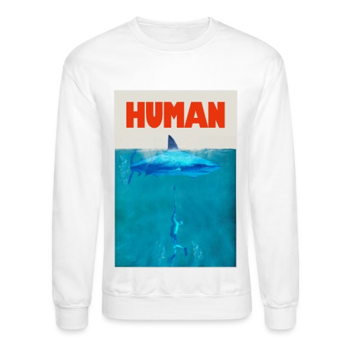 Endangered Shark - Unisex Crewneck Sweatshirt