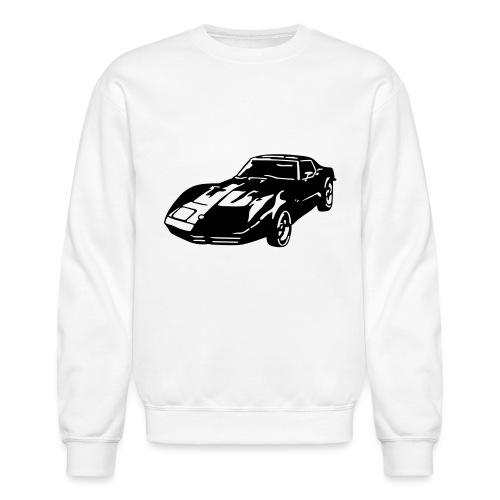 auto_80s_chevrolet_corvette_1c - Crewneck Sweatshirt