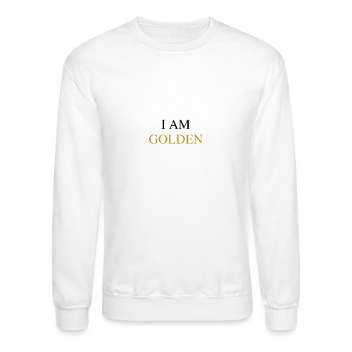 DemiGod - I Am Golden (White) - Unisex Crewneck Sweatshirt