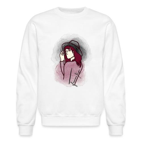Maroon Eyes - Unisex Crewneck Sweatshirt