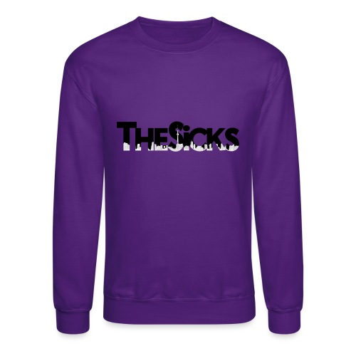 The Sicks - logo black - Unisex Crewneck Sweatshirt
