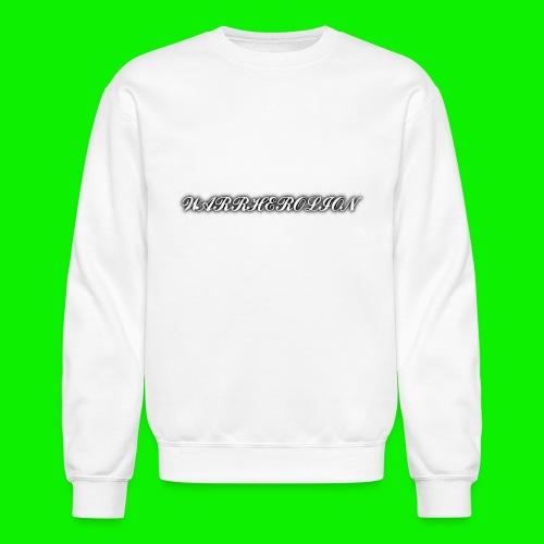 Warherolion plane text-gray - Crewneck Sweatshirt