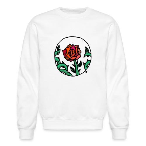 Rose Cameo - Unisex Crewneck Sweatshirt