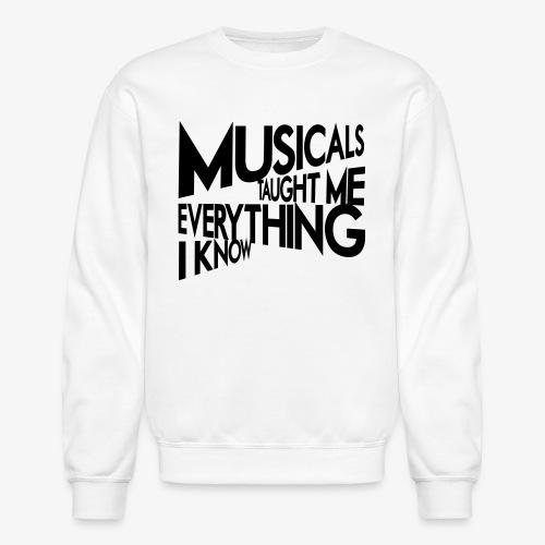 MTMEIK Black Logo - Crewneck Sweatshirt