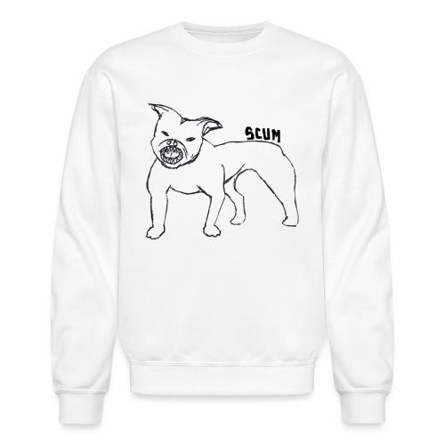 Scum Pitbull - Crewneck Sweatshirt