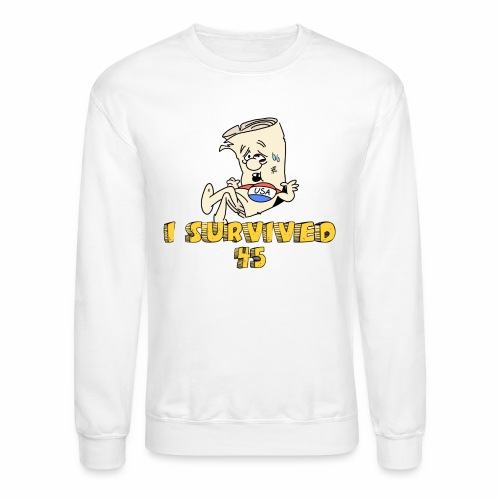 I Survived 45 - Unisex Crewneck Sweatshirt