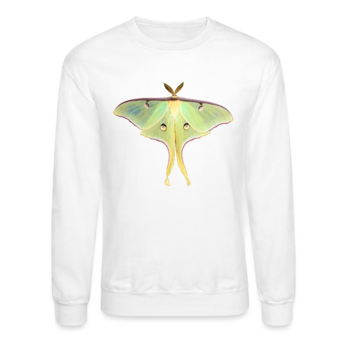 GREEN LUNA MOTH - Crewneck Sweatshirt