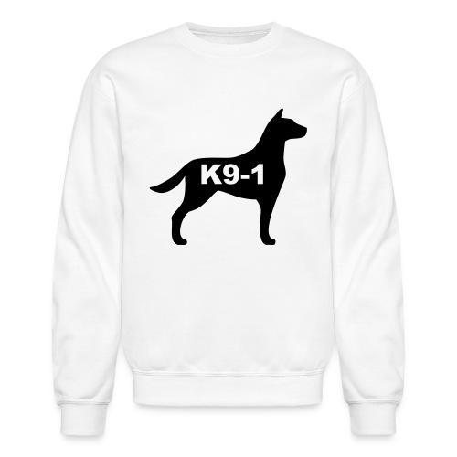 k9-1 Logo Large - Crewneck Sweatshirt
