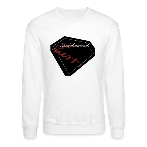 Blood Diamond -black logo - Unisex Crewneck Sweatshirt
