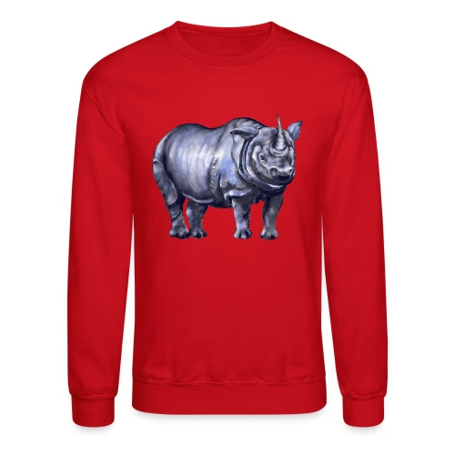 One horned rhino - Crewneck Sweatshirt