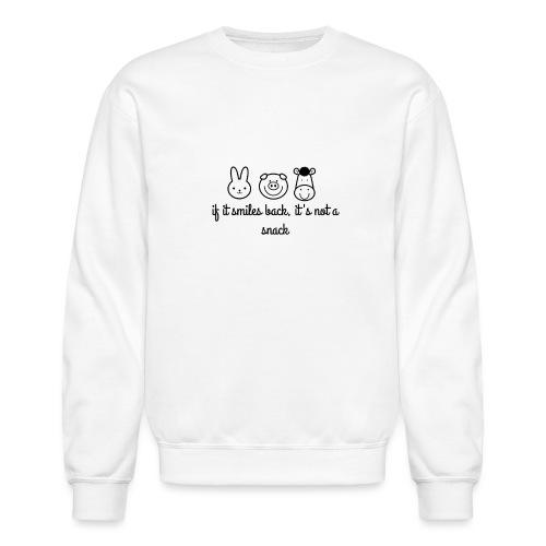 SMILE BACK - Crewneck Sweatshirt