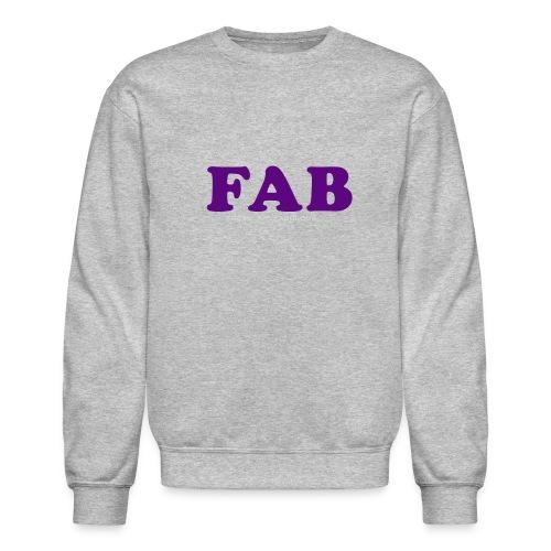 FAB Tank - Crewneck Sweatshirt