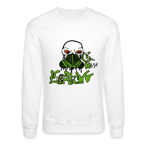 Leaking Gas Mask - Crewneck Sweatshirt