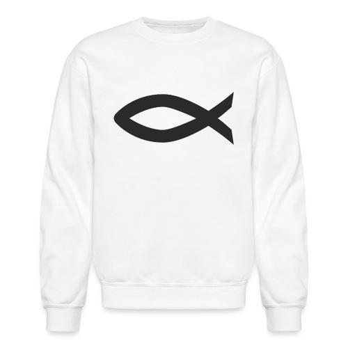 Christian fish symbol - Crewneck Sweatshirt