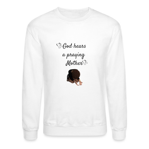 Praying Mother - Unisex Crewneck Sweatshirt