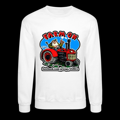 Mr Natural Farm On - Crewneck Sweatshirt